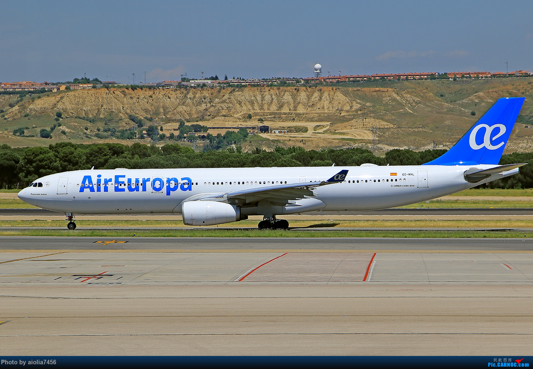 Re:[原创]【合肥飞友会】西行归来第二弹--西行拍机 AIRBUS A330-300 EC-MHL 西班牙马德里机场
