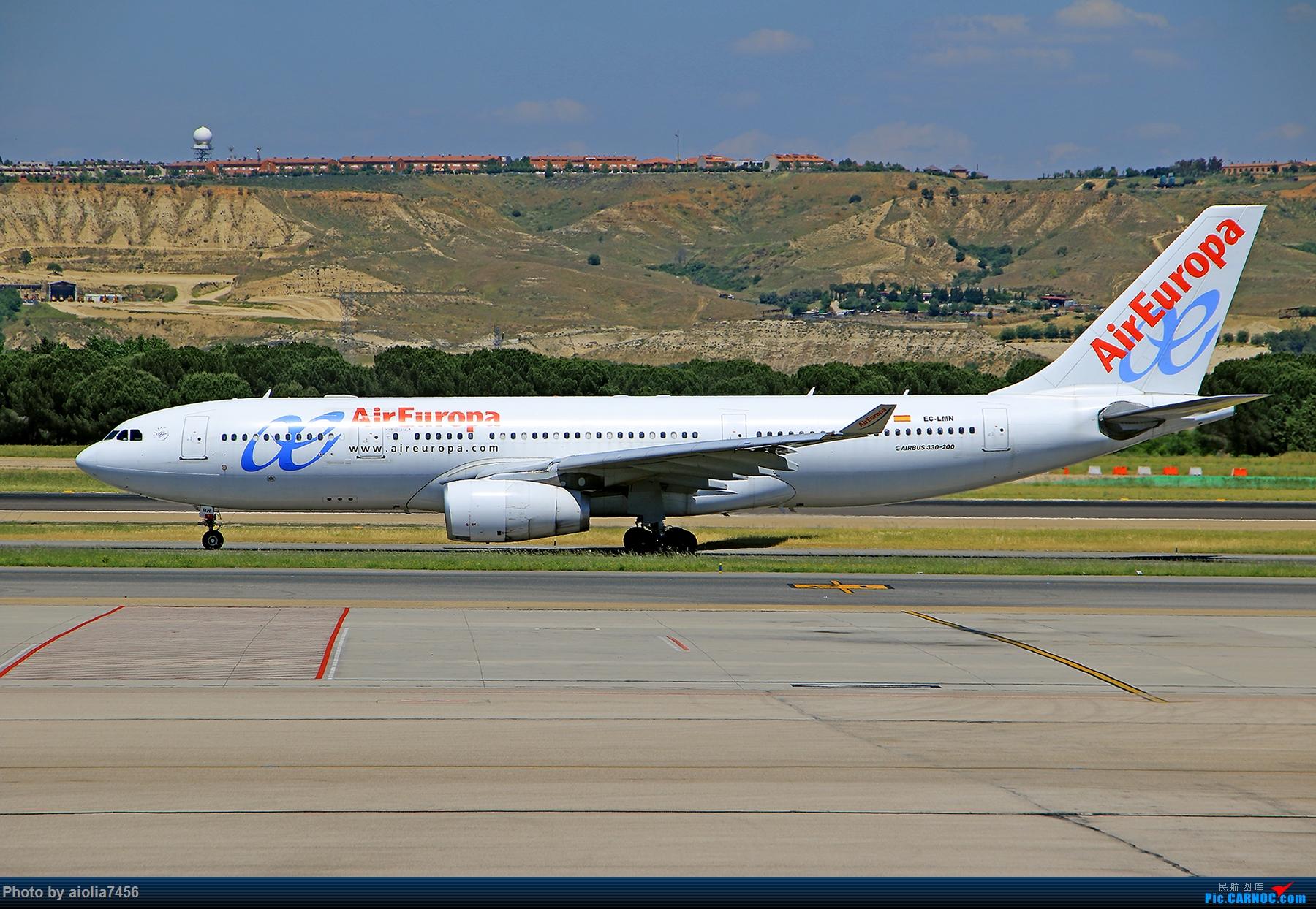 Re:[原创]【合肥飞友会】西行归来第二弹--西行拍机 AIRBUS A330-200 EC-MLN 西班牙马德里机场