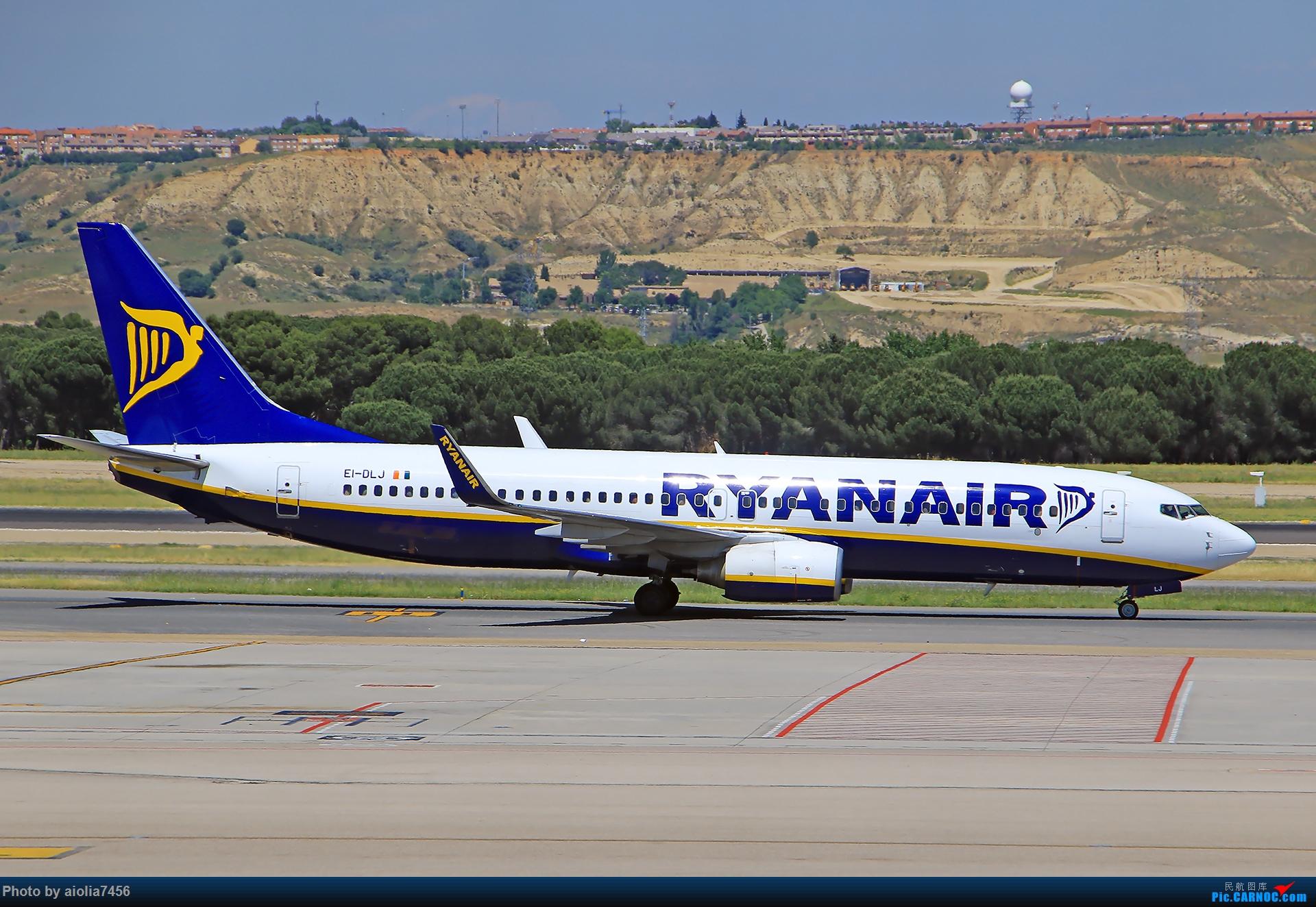 Re:[原创]【合肥飞友会】西行归来第二弹--西行拍机 BOEING 737-800 EI-DLJ 西班牙马德里机场