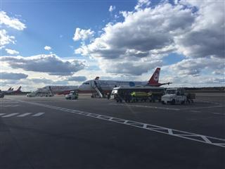 Re:【Clark游记30】迟来系列9,寰宇里半廉价航空柏林航空初体验,意外的准点,当年飞的这架737-700现在已经摇身一变去了瑞丽