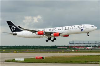 【PVG】浦东难得的妖天,又见北欧大猩猩OY-KBM,A340-300