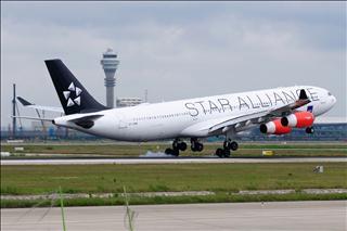 Re:【PVG】浦东难得的妖天,又见北欧大猩猩OY-KBM,A340-300