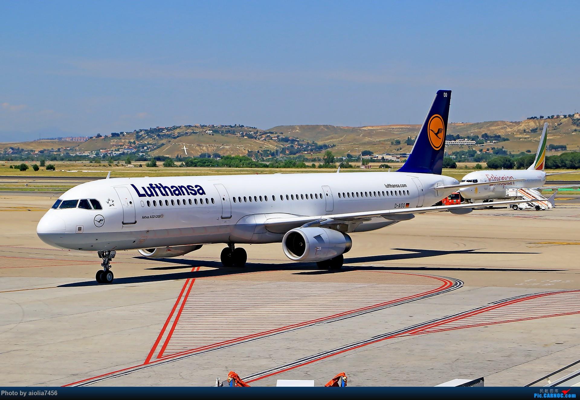 Re:[原创]【合肥飞友会】西行归来第二弹--西行拍机 AIRBUS A321-200 D-AIDQ 西班牙马德里机场