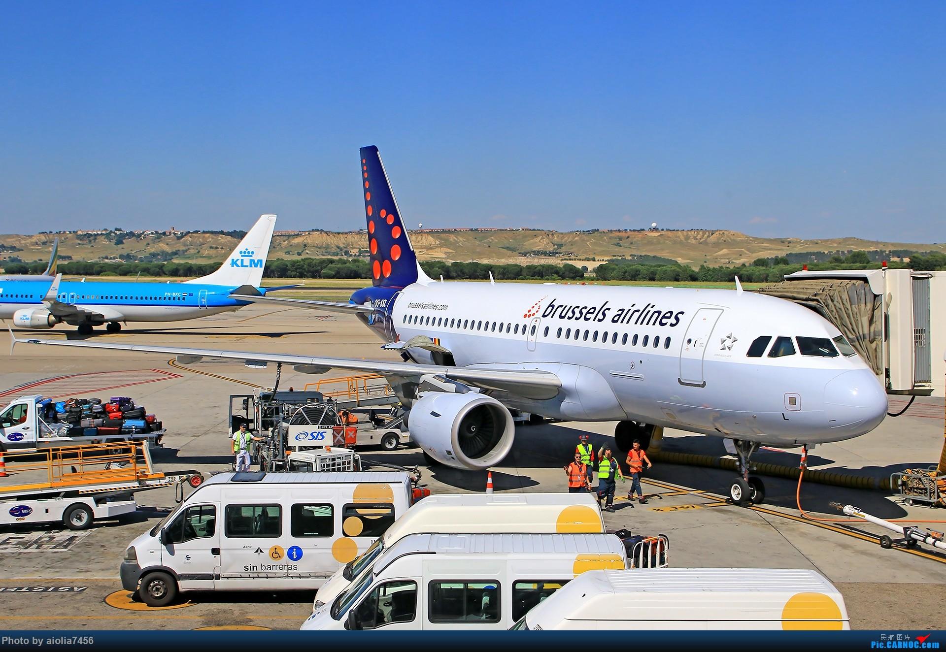 Re:[原创]【合肥飞友会】西行归来第二弹--西行拍机 AIRBUS A319 OO-SSL 西班牙马德里机场