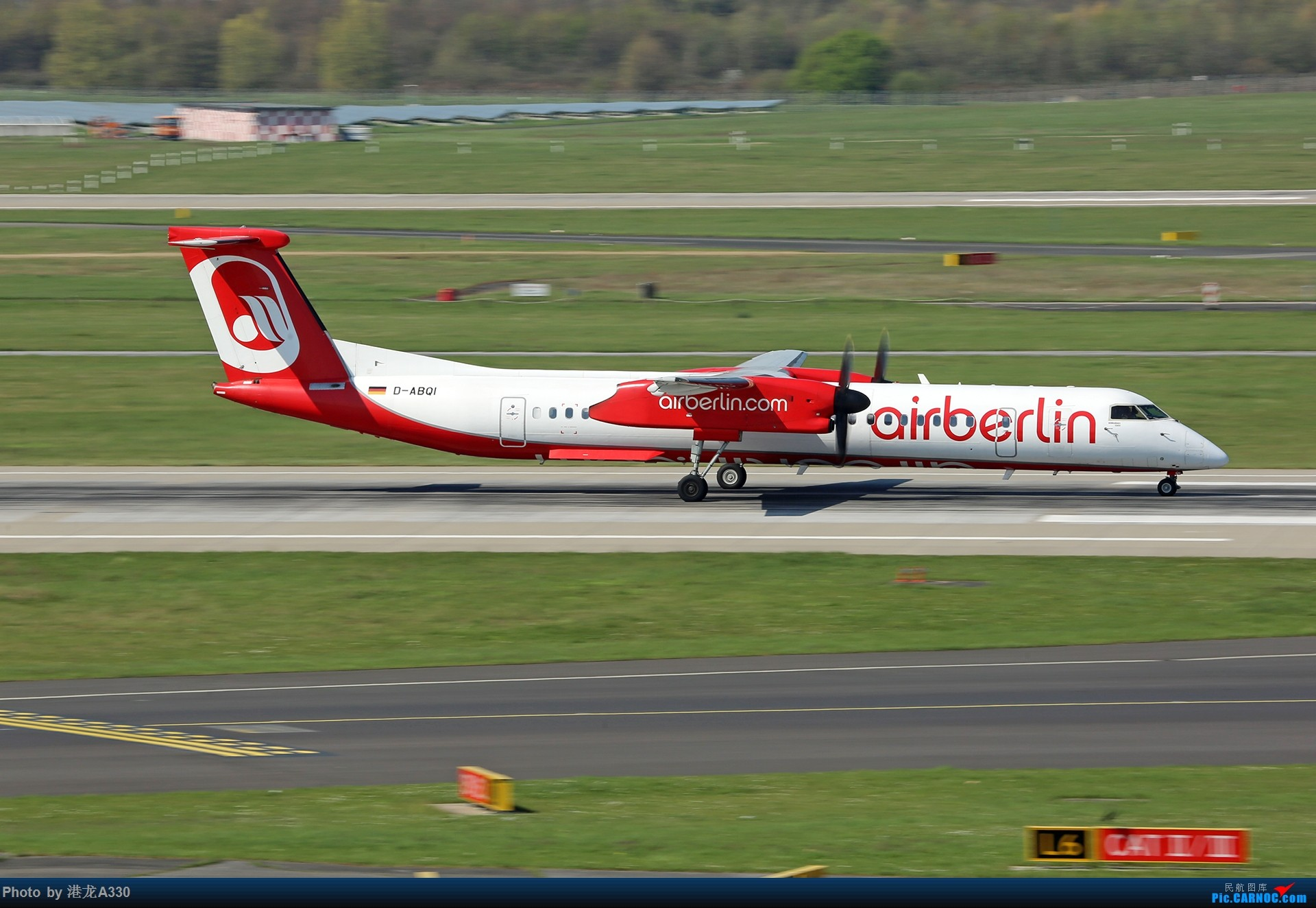 Re:今天突然就想发个帖 II DE HAVILLAN CANADA DHC-8-400 D-ABQI 德国杜塞尔多夫机场