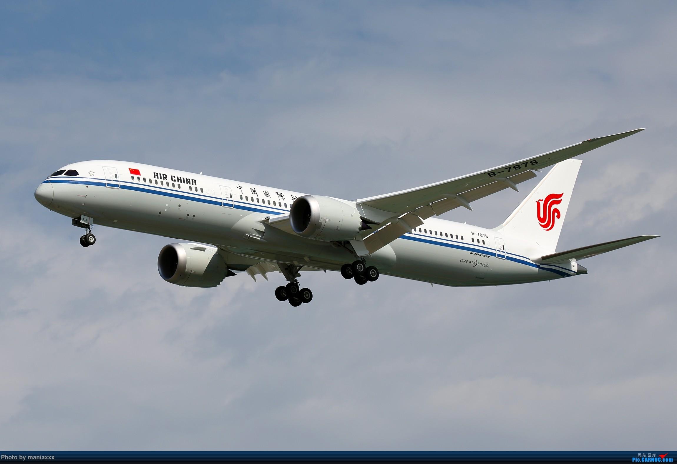[原创]国航第二架789~~B-7878~~欢迎回家~~~~P.S.附上今天的另外两架789~~~~~ BOEING 787-9 B-7878 中国北京首都国际机场