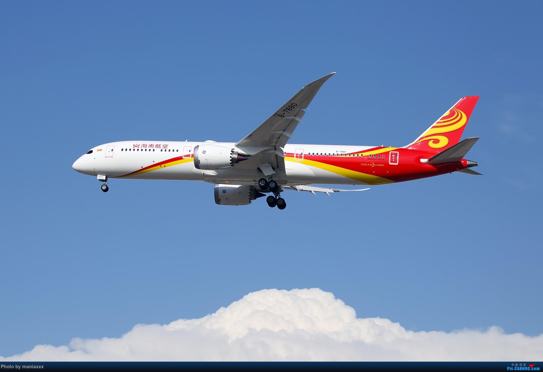Re:[原创]国航第二架789~~B-7878~~欢迎回家~~~~P.S.附上今天的另外两架789~~~~~ BOEING 787-9 B-7880 中国北京首都国际机场
