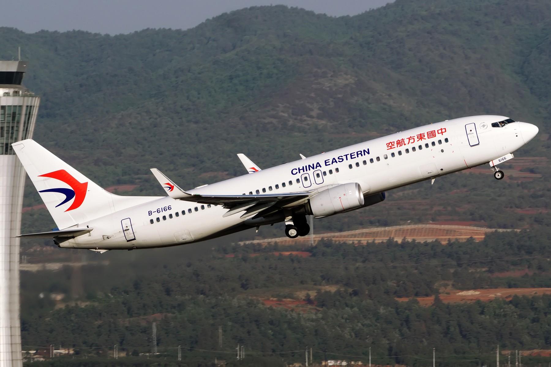 Re:==2016上半年汇报帖== BOEING 737-800 B-6166 中国昆明长水国际机场