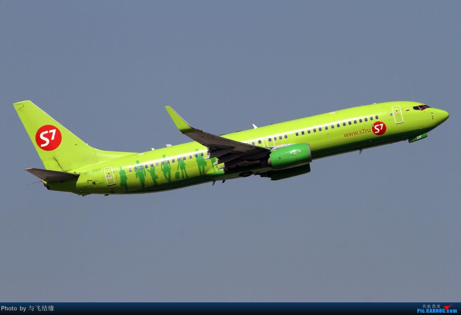 [原创]绿头娃等等等 BOEING 737-800 VP-BDF 中国北京首都国际机场