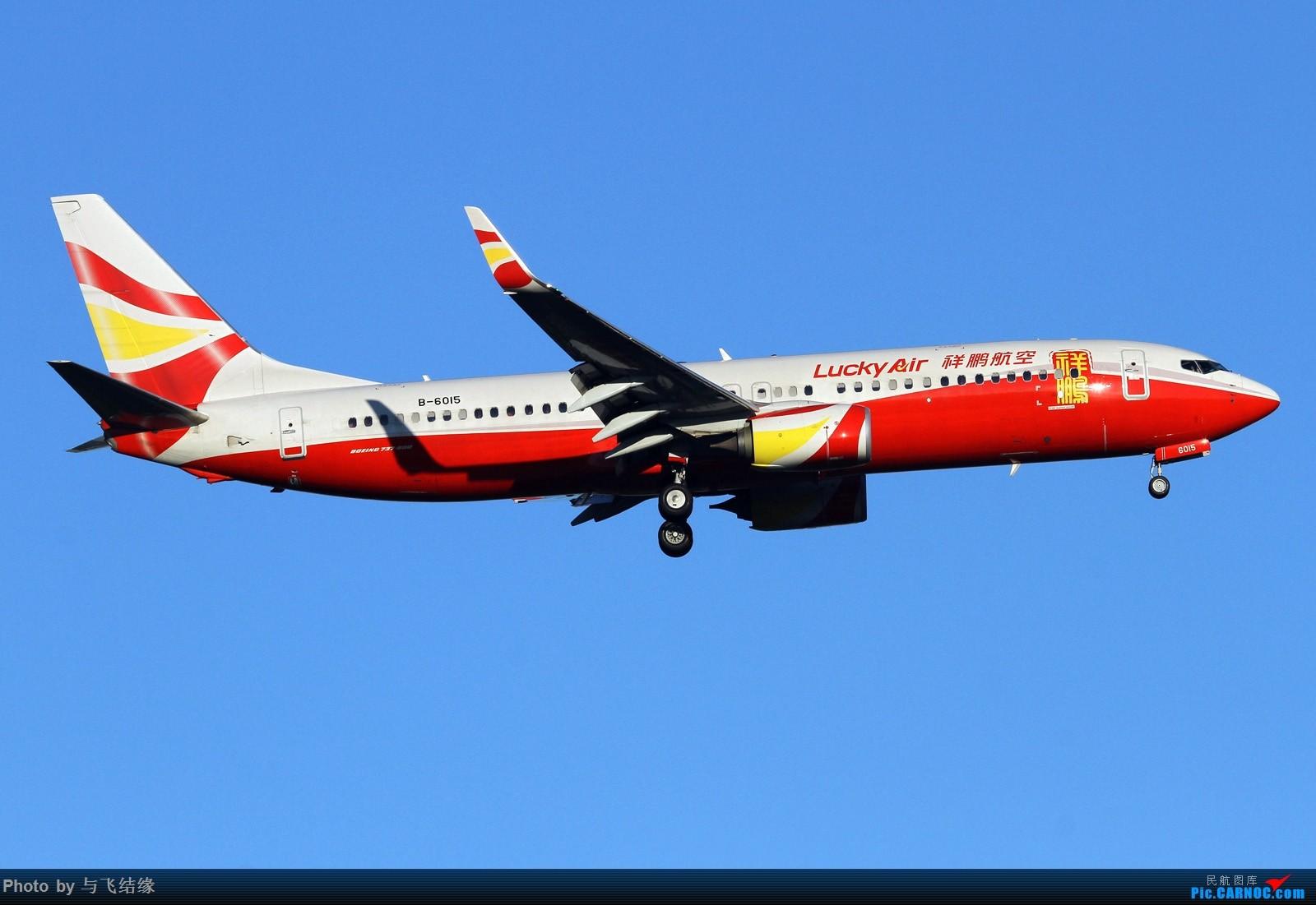 Re:[原创]绿头娃等等等 BOEING 737-800 B-6015 中国北京首都国际机场