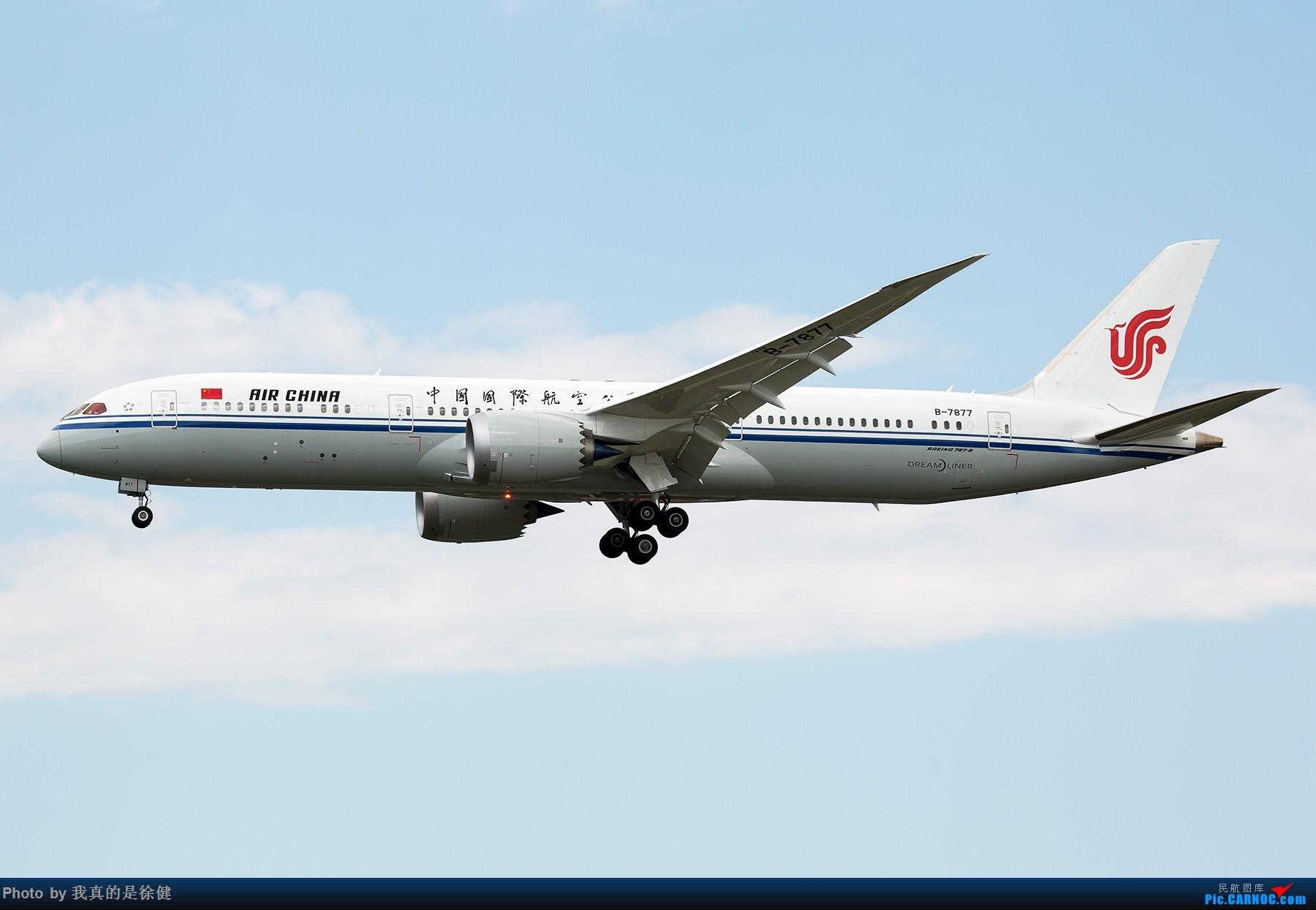 [原创]【多图党】1800x1200 截止目前国内的三架Boeing787-9 BOEING 787-9 B-7877 中国北京首都国际机场