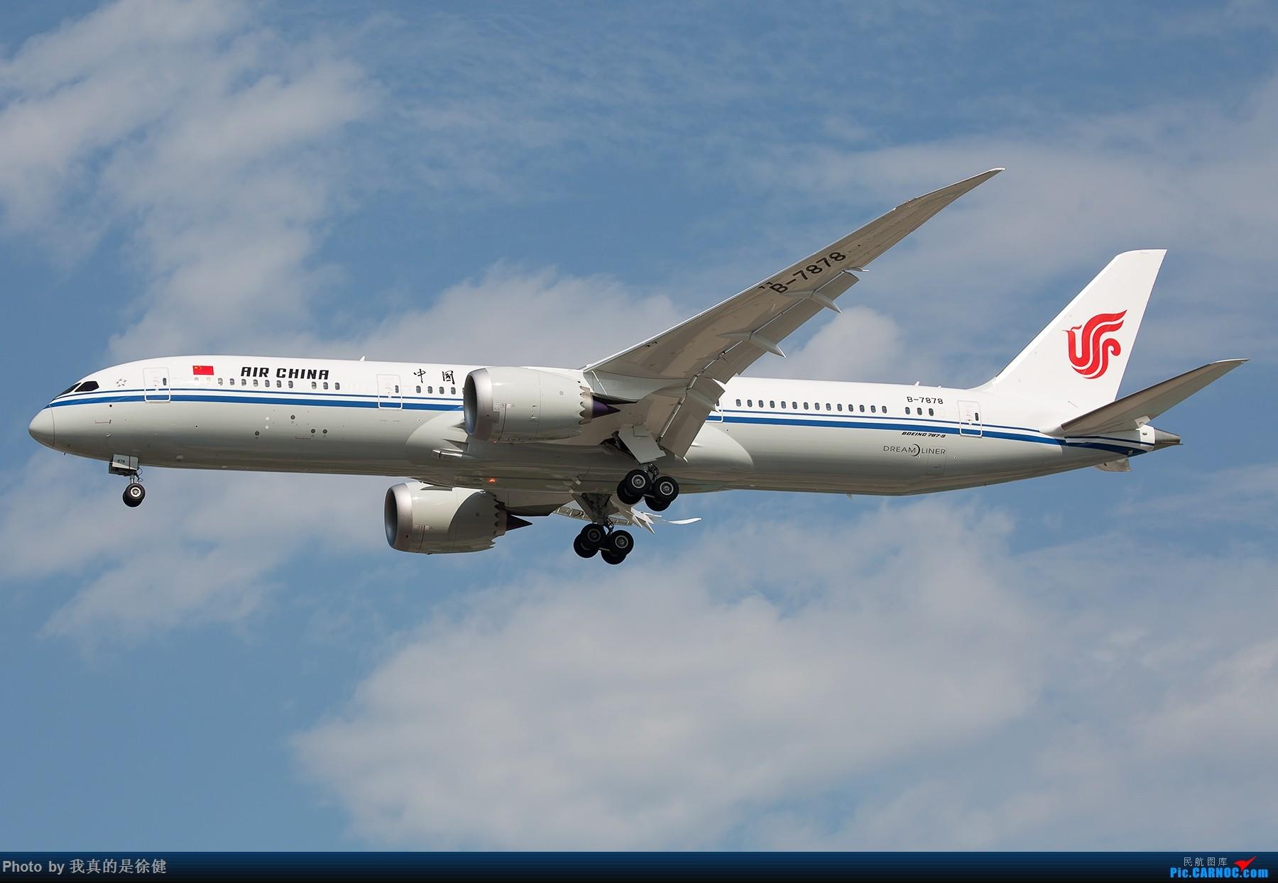 Re:[原创]【多图党】1800x1200 截止目前国内的三架Boeing787-9 BOEING 787-9 B-7878 中国北京首都国际机场