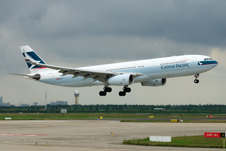 [原创]【PVG】发两张库存求明天好天~~~ AIRBUS A330-300 B-LAE 中国上海浦东国际机场