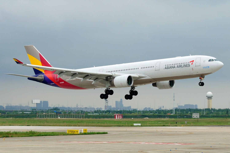 Re:[原创]【PVG】发两张库存求明天好天~~~ AIRBUS A330-300 HL8293 中国上海浦东国际机场