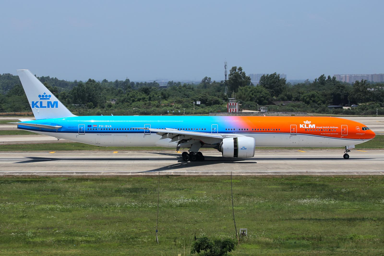 Re:[CCFA] CTU 成都六月绝对的惊喜,KLM荷兰皇家航空Orange Pride首次亲吻成都!!!!!!! BOEING 777-300ER PH-BVA 中国成都双流国际机场