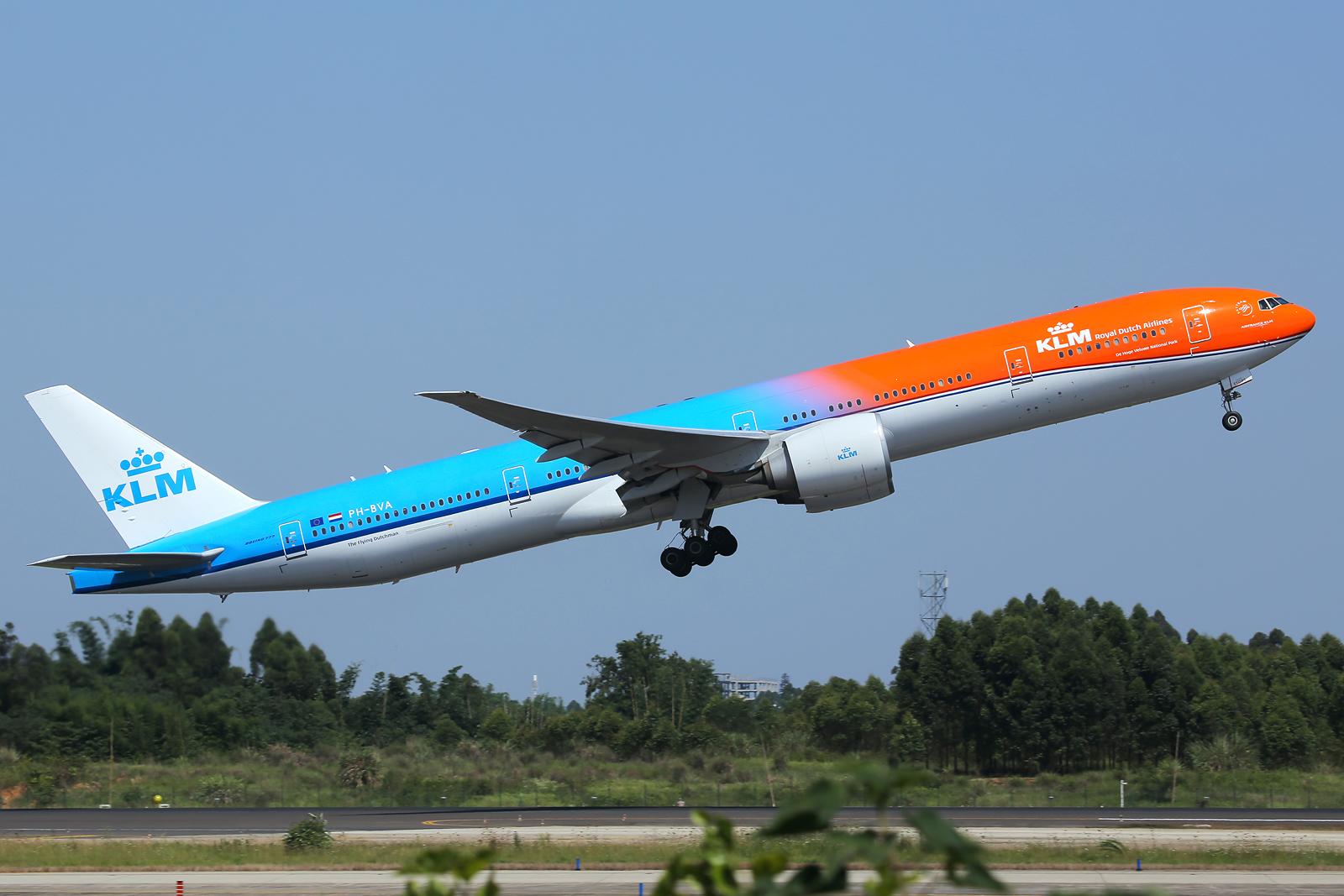 Re:[原创][CCFA] CTU 成都六月绝对的惊喜,KLM荷兰皇家航空Orange Pride首次亲吻成都!!!!!!! BOEING 777-300ER PH-BVA 中国成都双流国际机场
