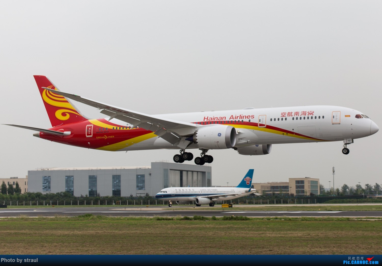 Re:[原创]「多图多机」787-9 × 3 BOEING 787-9 B-7880 中国北京首都国际机场