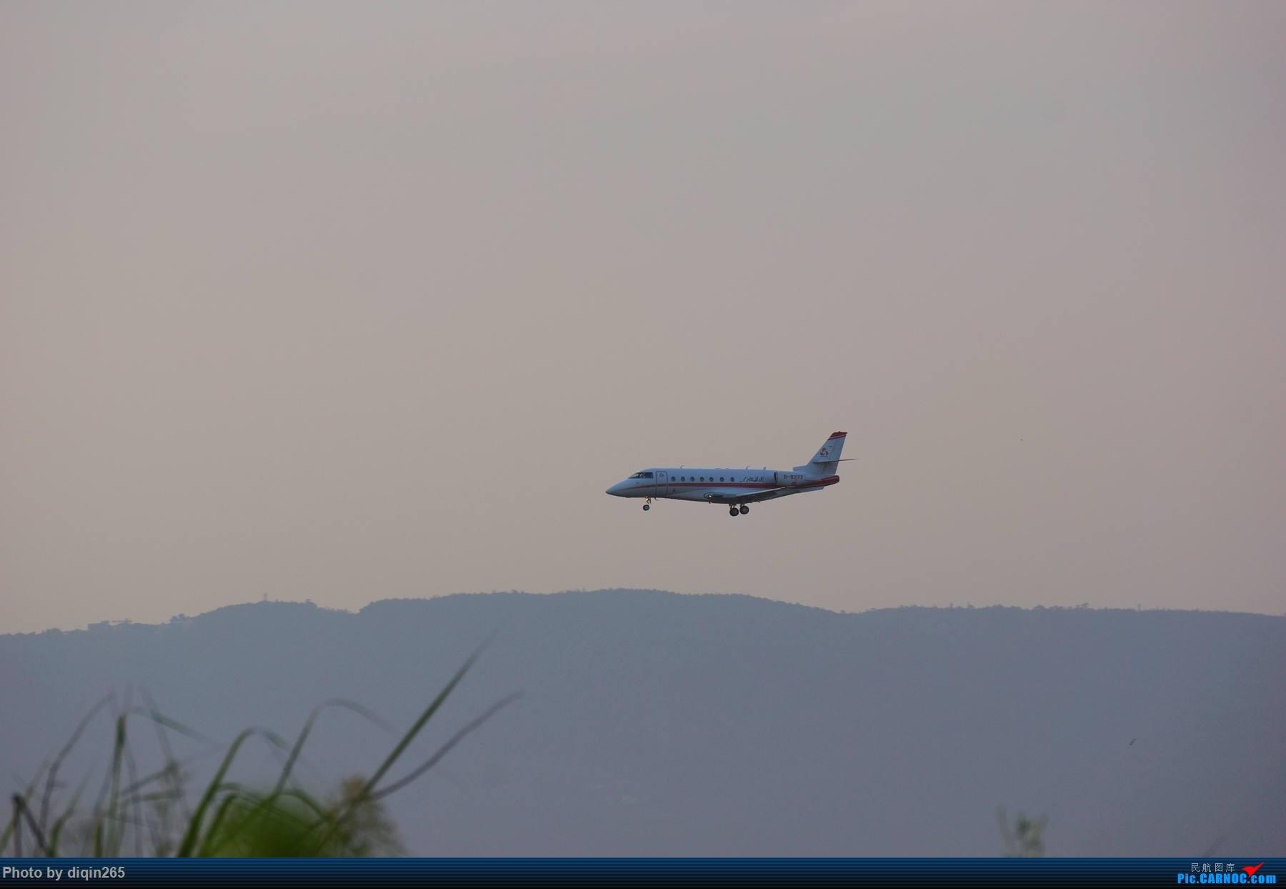 [原创]6月在CKG的首次拍机 GULFSTREAM G200 B-8277 中国重庆江北国际机场