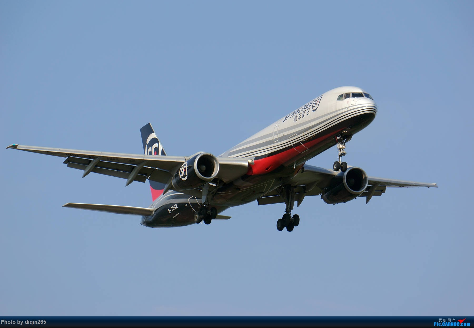 Re:[原创]6月在CKG的首次拍机 BOEING 757-200 B-7082 中国重庆江北国际机场