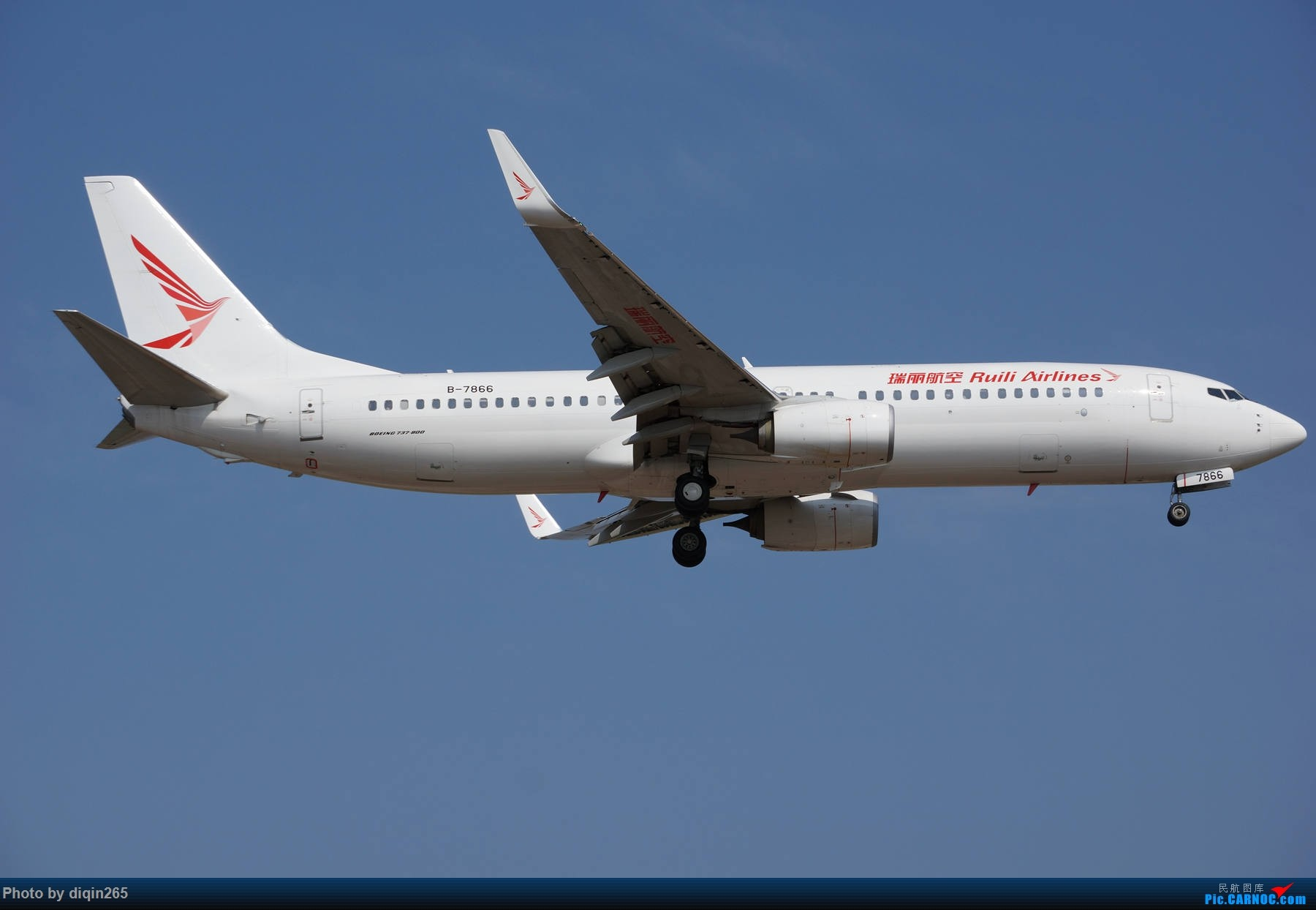 Re:[原创]6月在CKG的首次拍机 BOEING 737-800 B-7866 中国重庆江北国际机场