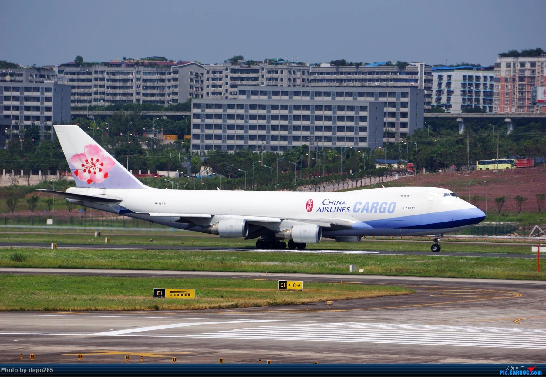 Re:[原创]6月在CKG的首次拍机 BOEING 747-400 B-18711 中国重庆江北国际机场