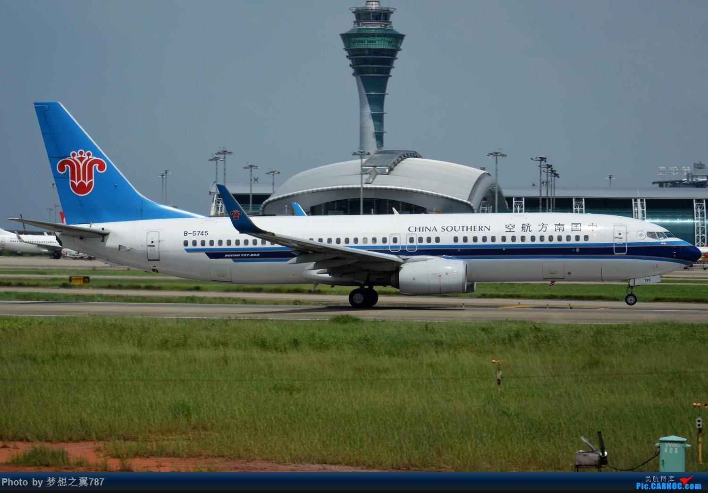 Re:[原创]2016.6.18白云随拍 BOEING 737-800 B-5745 中国广州白云国际机场