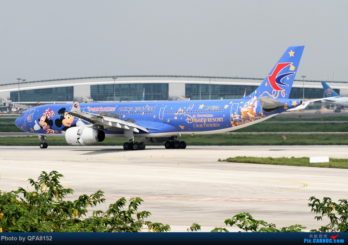 Re:[原创]大老鼠总算是来南巡了 AIRBUS A330-300 B-6120 中国广州白云国际机场