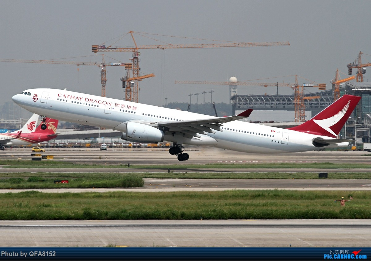 Re:[原创]大老鼠总算是来南巡了 AIRBUS A330-300 B-HYQ 中国广州白云国际机场