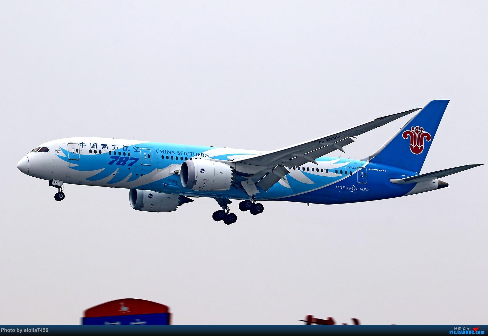 Re:[原创][合肥飞友会]上海打鸡-水泥天的虹桥 BOEING 787-8 B-2736 中国上海虹桥国际机场