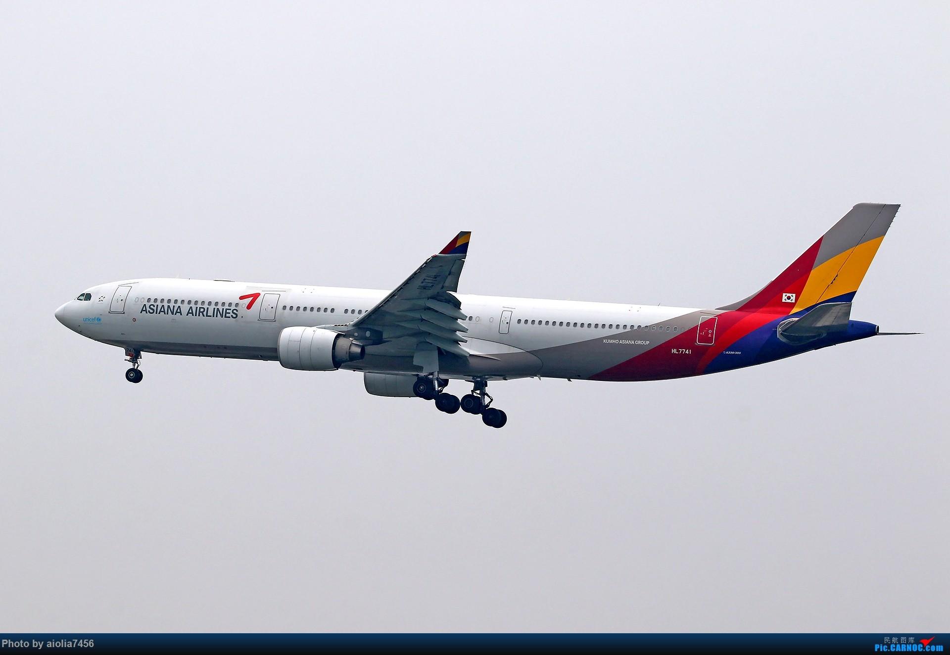 Re:[原创][合肥飞友会]上海打鸡-水泥天的虹桥 AIRBUS A330-300 HL7441 中国上海虹桥国际机场