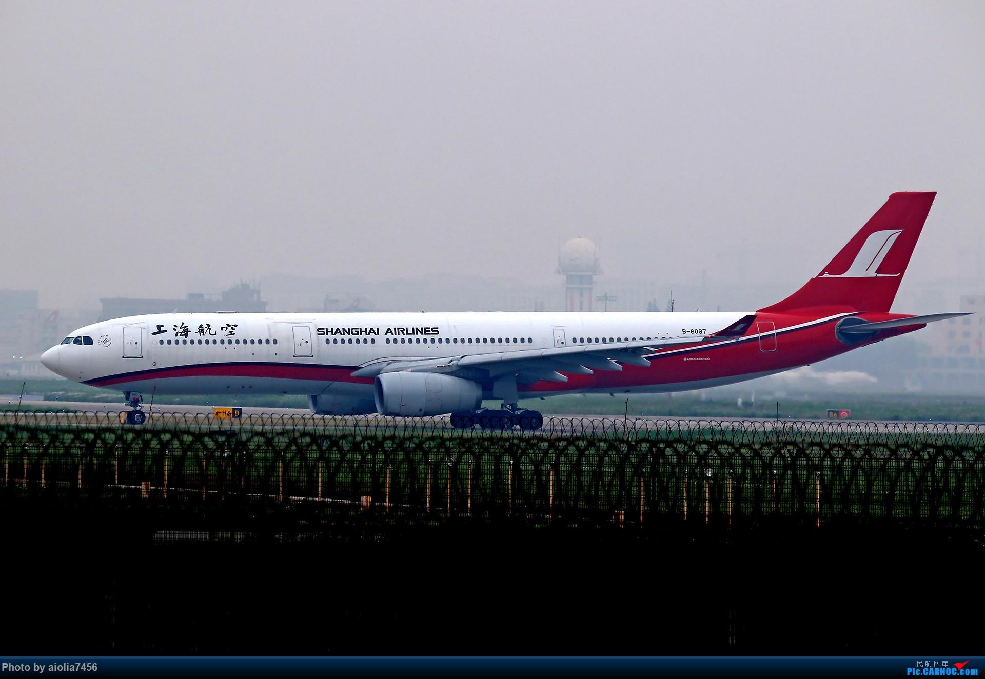 Re:[原创][合肥飞友会]上海打鸡-水泥天的虹桥 AIRBUS A330-300 B-6097 中国上海虹桥国际机场