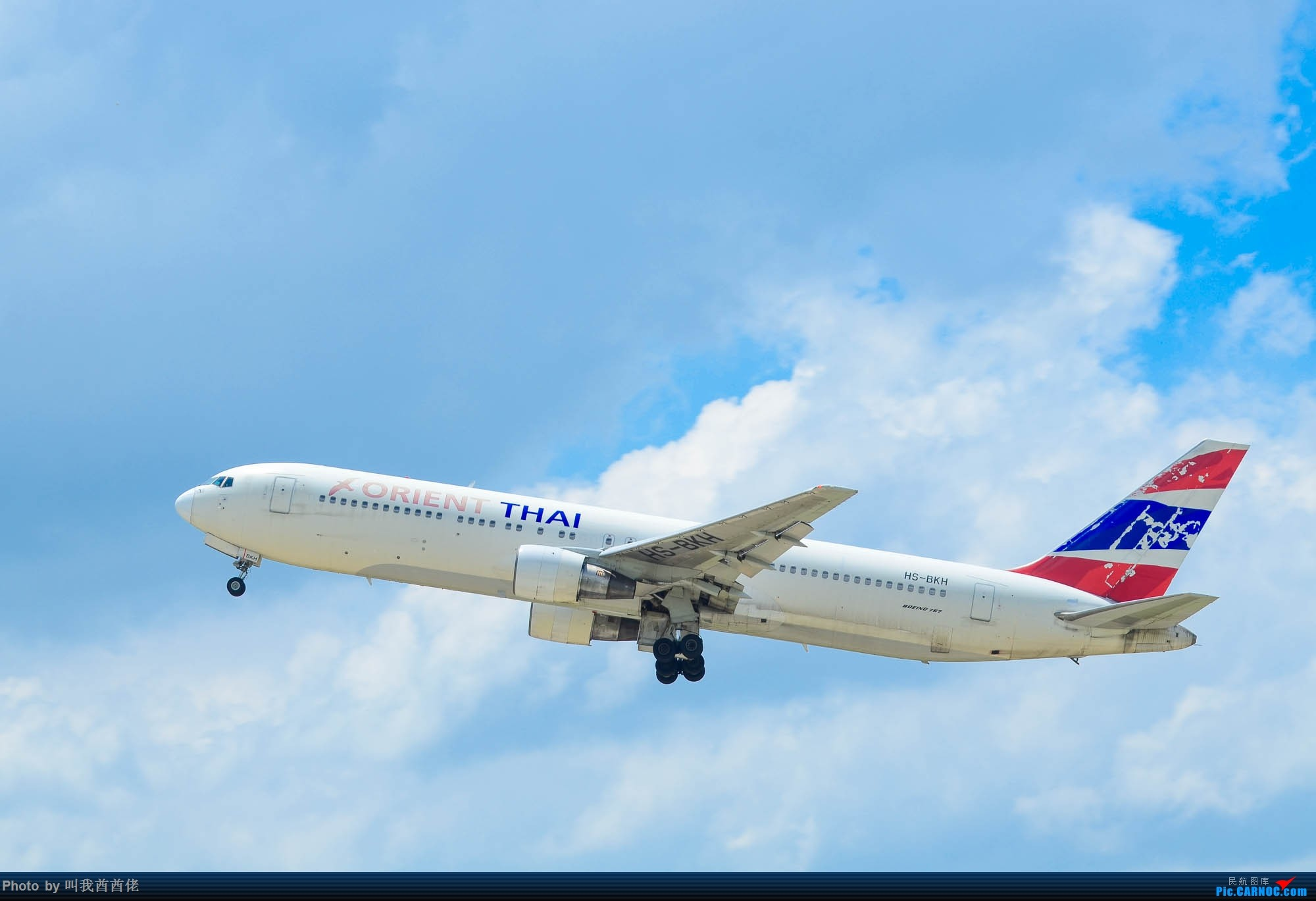Re:[原创]南宁拍机记(蓝天白云) BOEING 767 HS-BKH 中国南宁吴圩国际机场