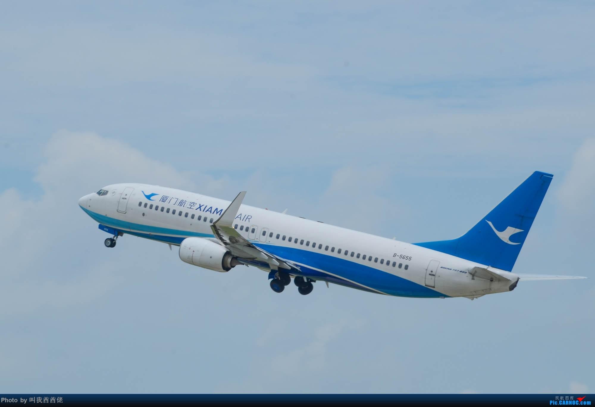 Re:南宁拍机记(蓝天白云) BOEING 737-800 B-5655 中国南宁吴圩国际机场