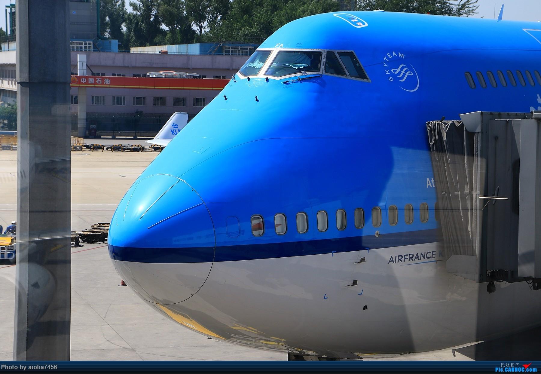 Re:[原创]【合肥飞友会】西行归来系列之三HFE/PEK/AMG/MAD/CDG/PVG/HFE西班牙游记之拥抱伊比利亚 BOEING 747-400 PH-BFA 中国北京首都国际机场