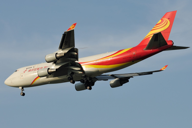 [原创]【PVG】黄昏下美丽光线一组 BOEING 747-400 B-2432 中国上海浦东国际机场