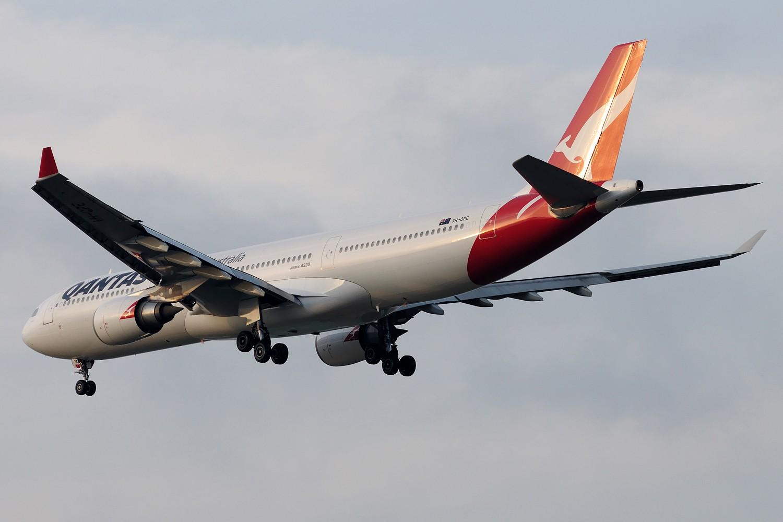 Re:[原创]【PVG】~~~~黄昏下美丽光线一组~~~~ AIRBUS A330-300 VH-QPE 中国上海浦东国际机场