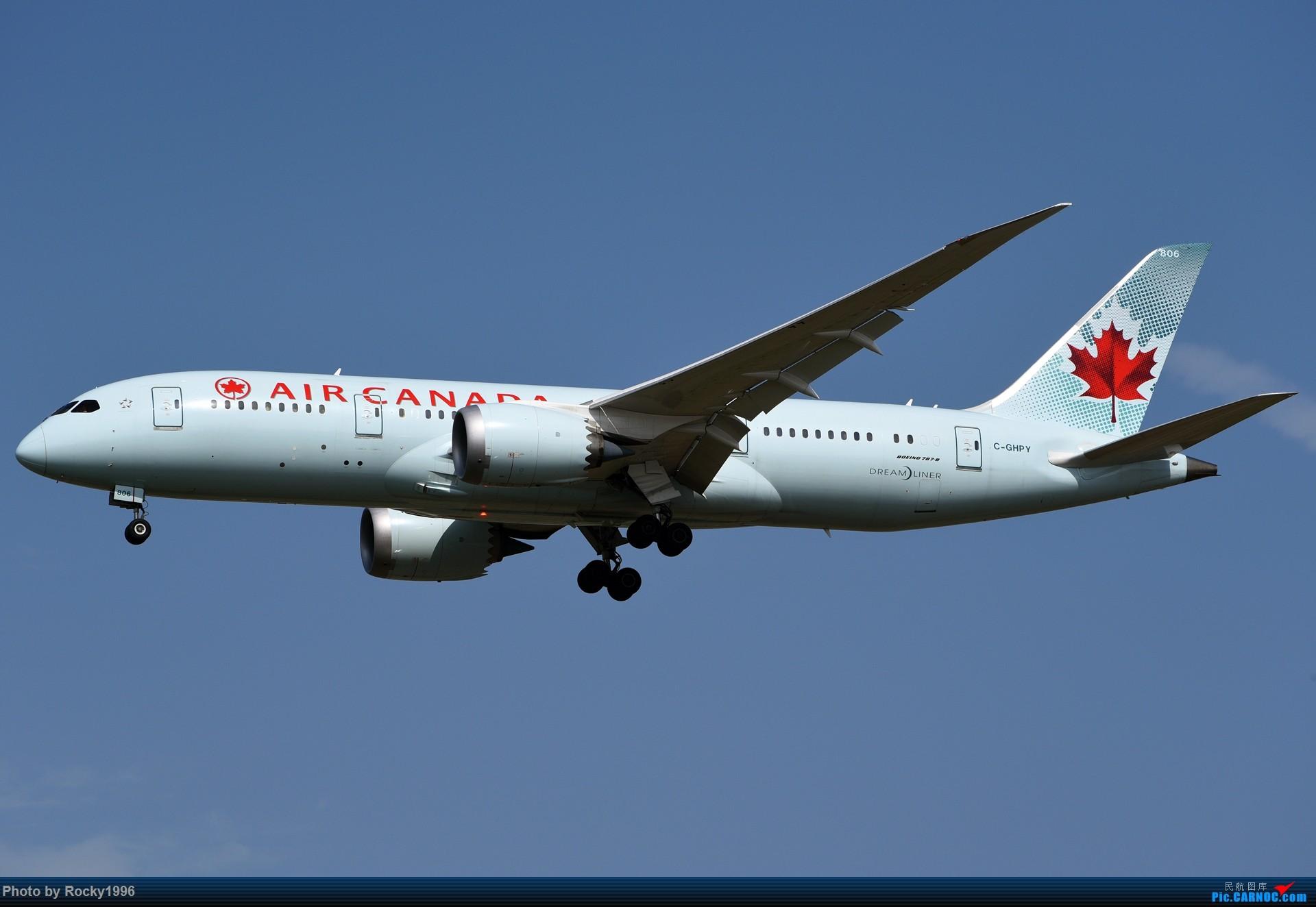 Re:[原创]要发霉了,炒个冷饭 BOEING 787-8 C-GHPY 中国上海浦东国际机场