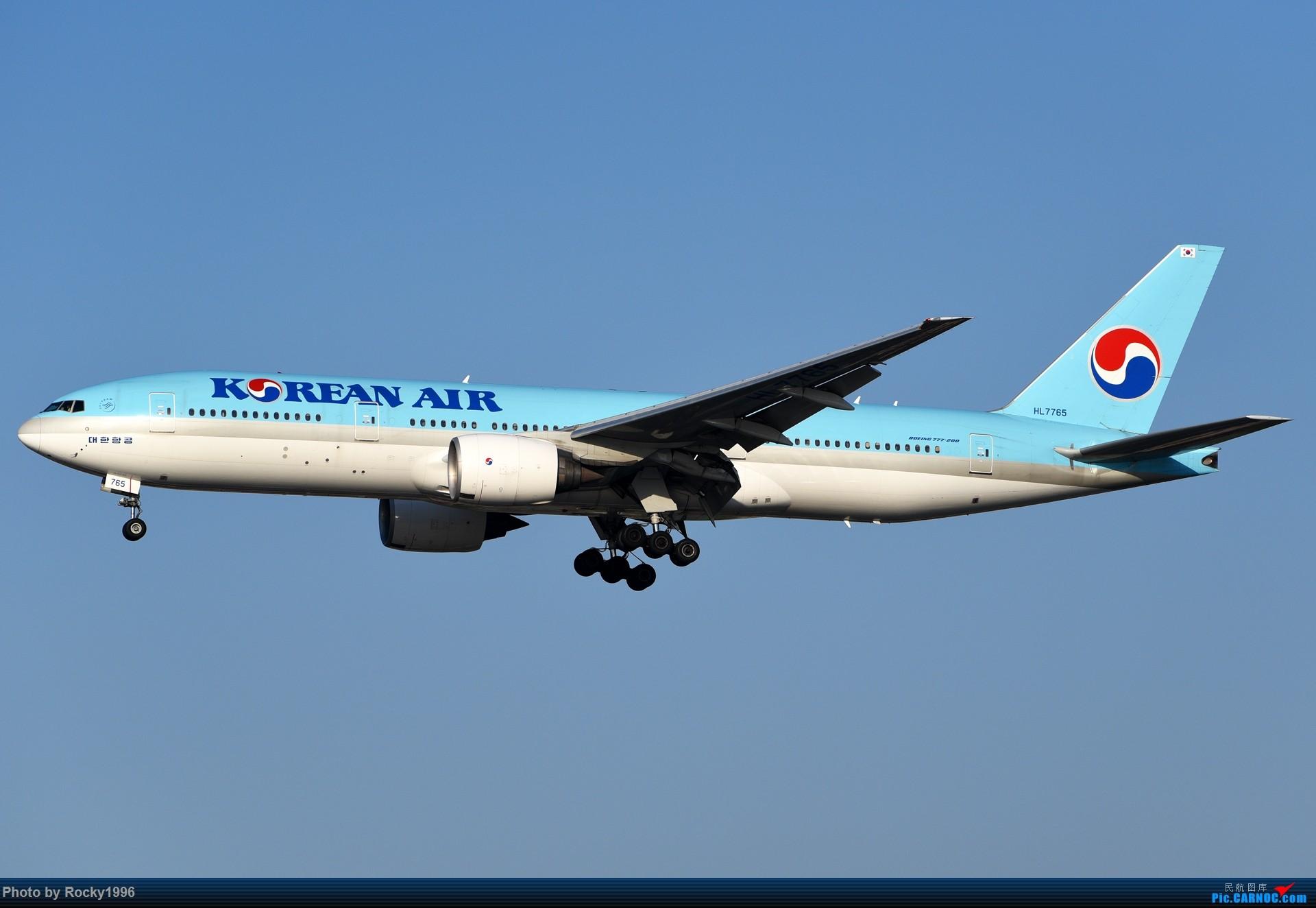 Re:[原创]要发霉了,炒个冷饭 BOEING 777-200ER HL7765 中国上海虹桥国际机场