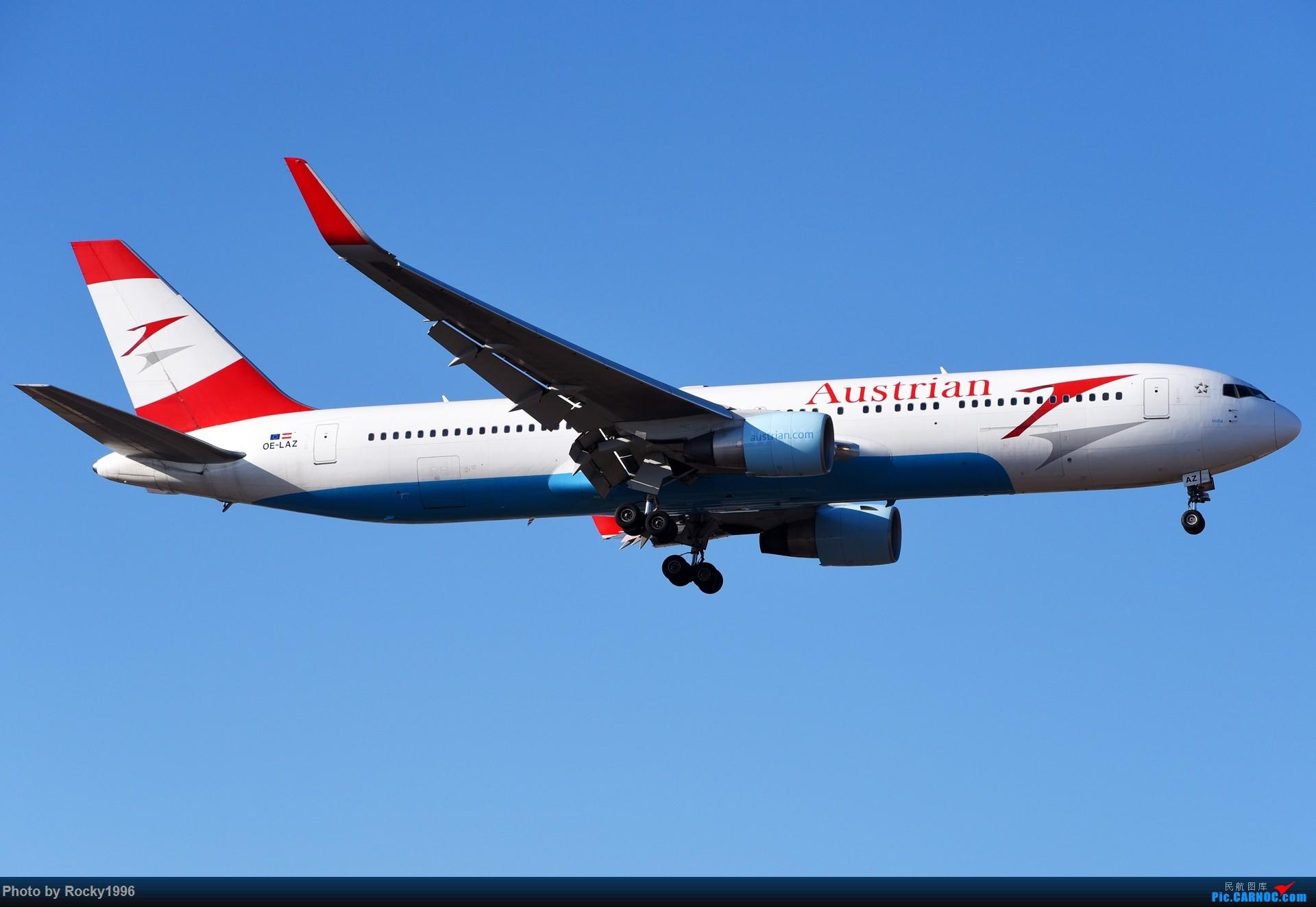 Re:[原创]要发霉了,炒个冷饭 BOEING 767-300ER OE-LAZ 中国北京首都国际机场