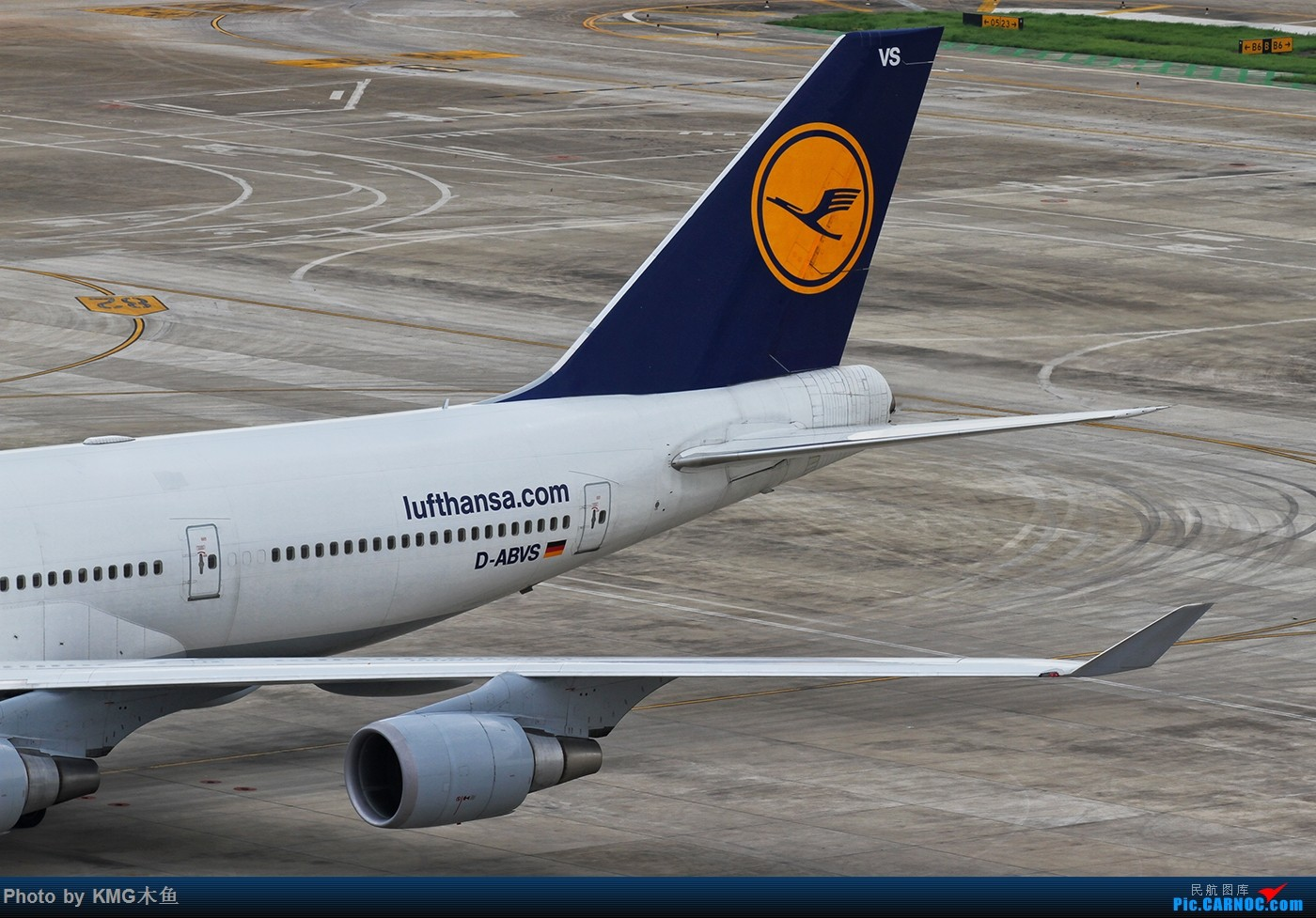 Re:[原创]KMG木鱼能不能到747级别就看各位的小飞机呢 BOEING 747-400 D-ABVS 中国厦门高崎国际机场