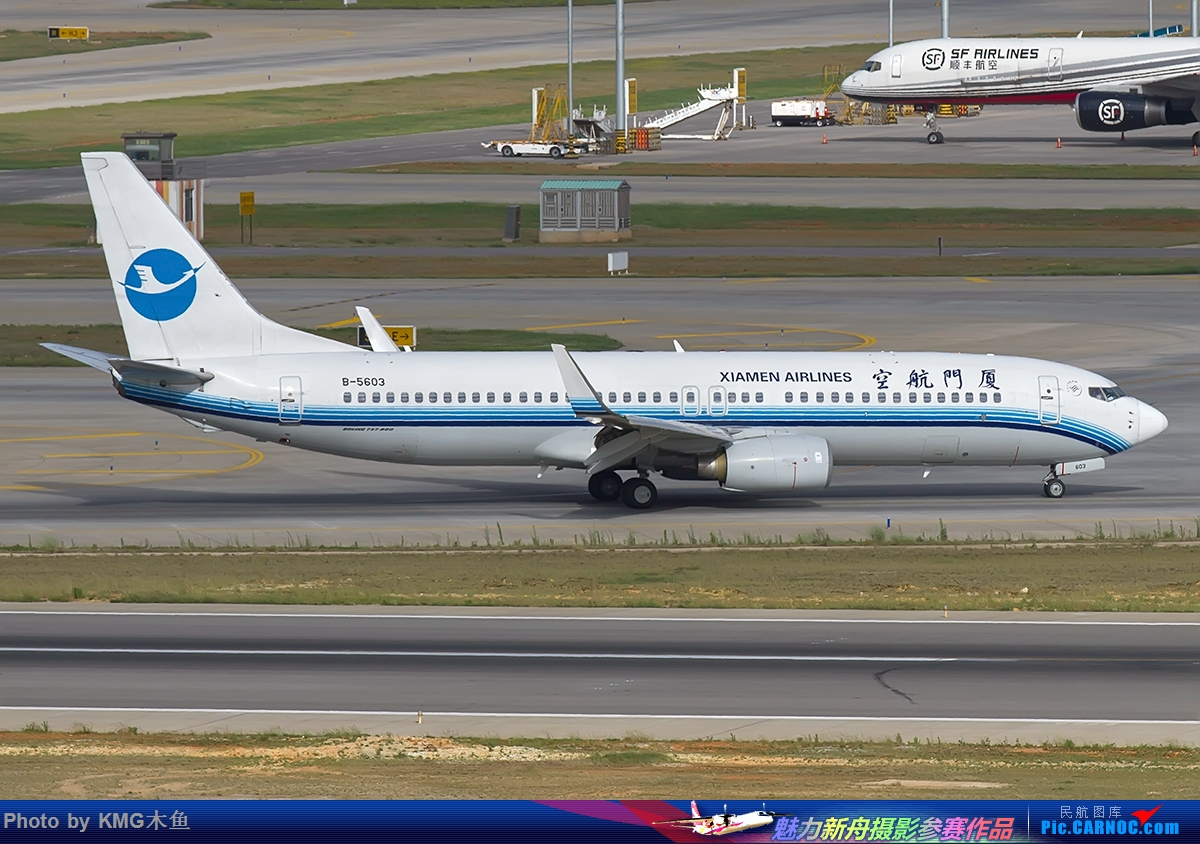 Re:[原创]【昆明飞友会-KMG木鱼6月拍机】图片有点多,耐心看,感谢各位 BOEING 737-800 B-5603 中国昆明长水国际机场