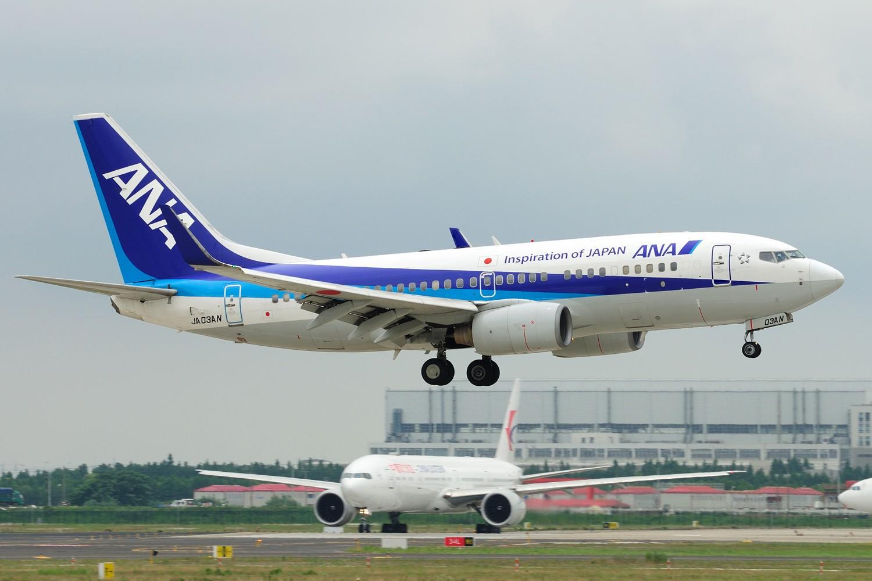 Re:[原创]【PVG】~~~继续清库存~~~ BOEING 737-700 JA03AN 中国上海浦东国际机场