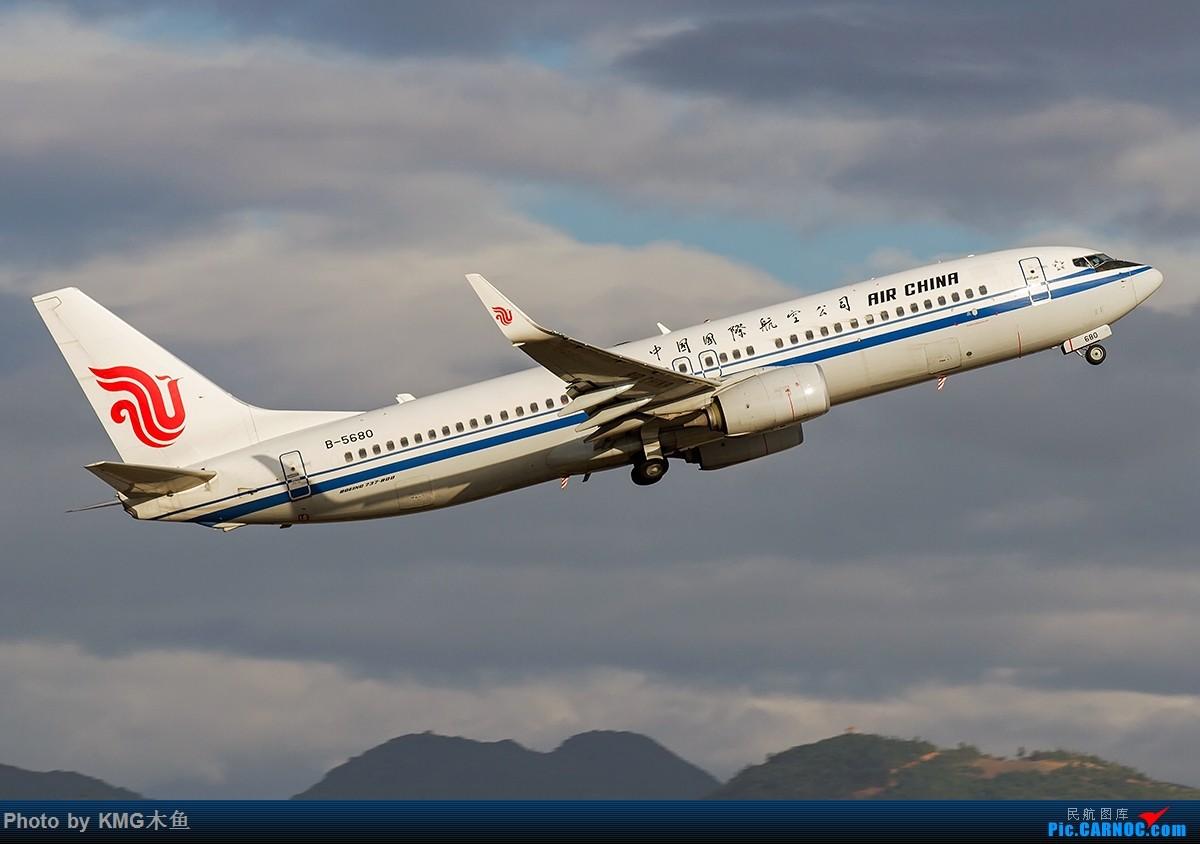 Re:[原创]【昆明飞友会-KMG木鱼6月拍机】图片有点多,耐心看,感谢各位 BOEING 737-800 B-5680 中国昆明长水国际机场