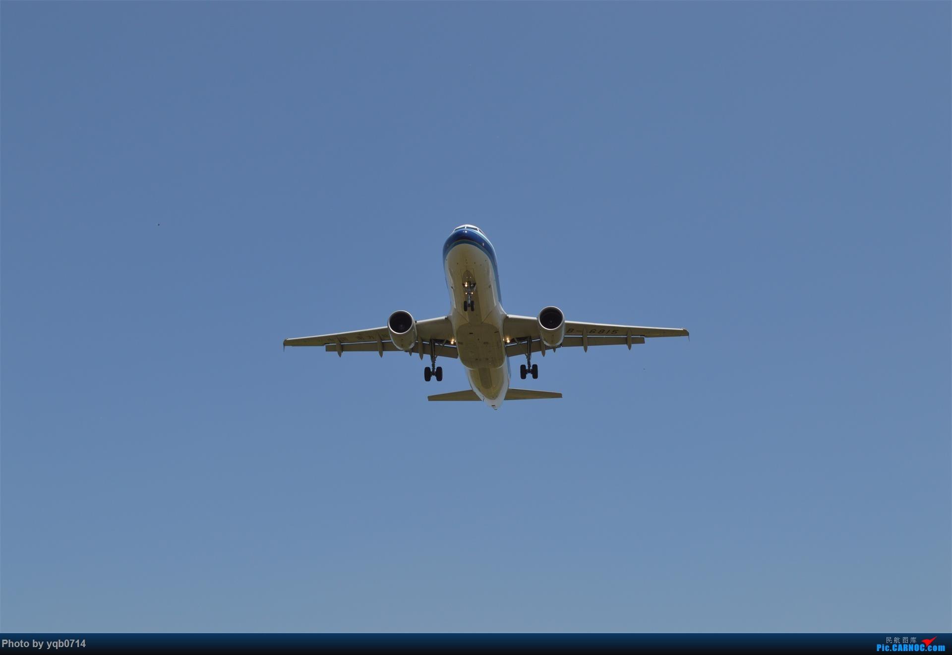 Re:[原创]出来炸道,喜欢星空联盟的小反!!!! AIRBUS A320-200 B-6815 沈阳桃仙