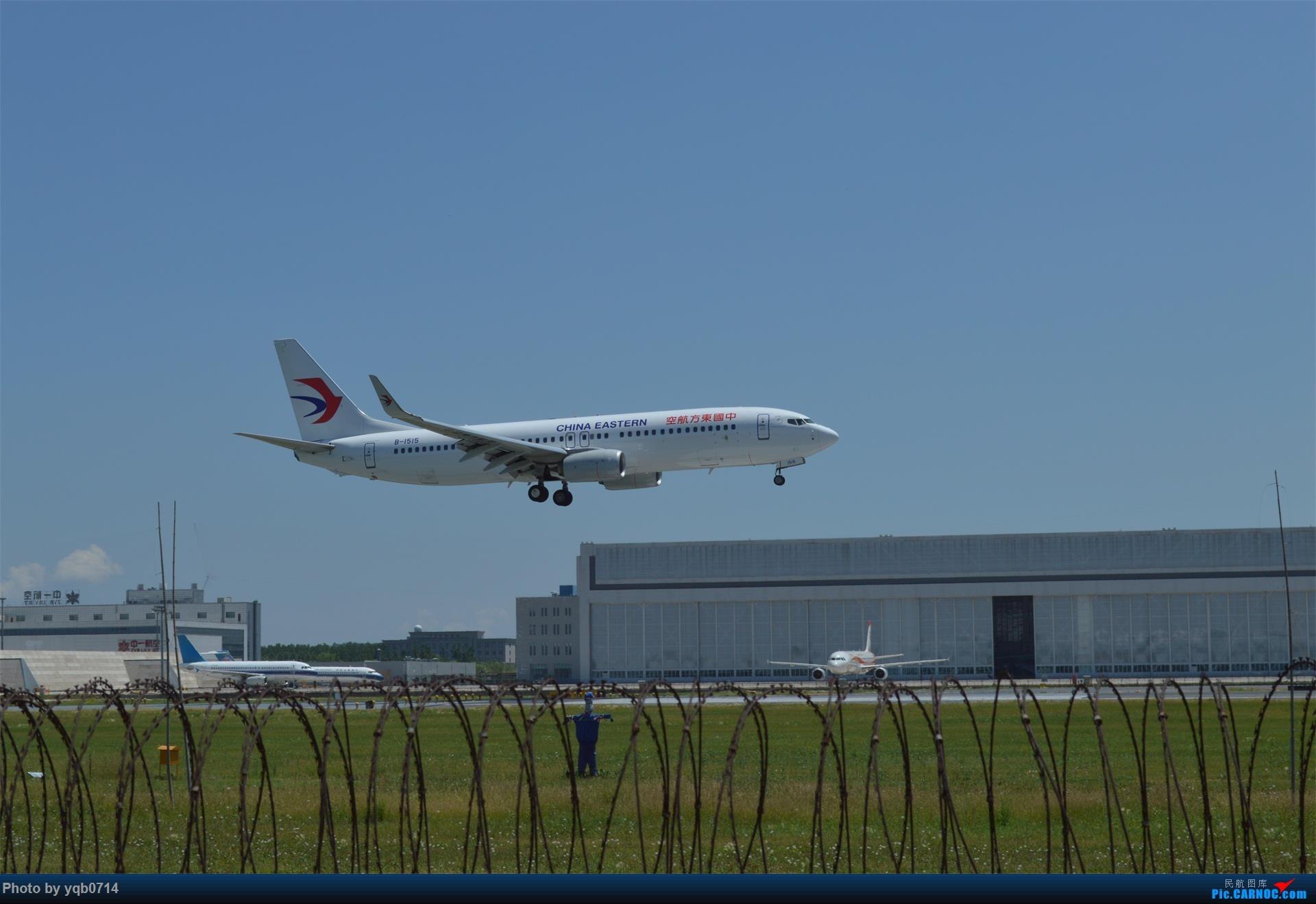 Re:[原创]出来炸道,喜欢星空联盟的小反!!!! BOEING 737-800 B-1515 中国沈阳桃仙国际机场