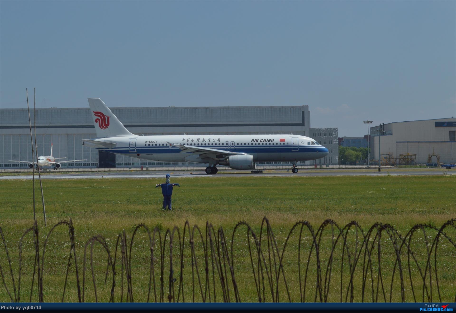 Re:[原创]出来炸道,喜欢星空联盟的小反!!!! AIRBUS A320-200 B-6607 中国沈阳桃仙国际机场