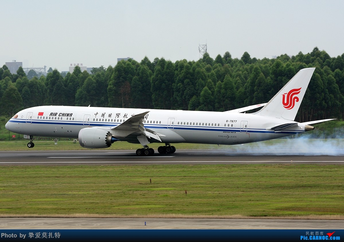 Re:[原创]「多图多机」今日的一些 / 国航B-7879 / 国航B-7878 / 海航B-7880 BOEING 787-9 B-7877 中国成都双流国际机场