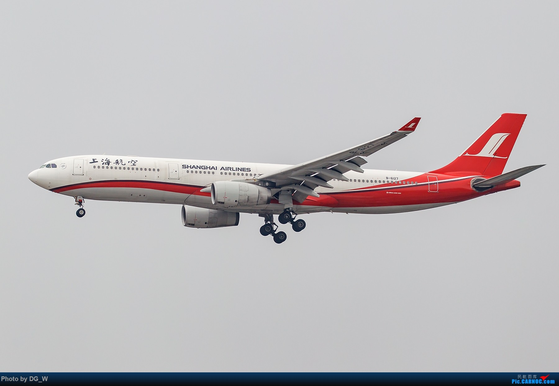 Re:[原创]【南宁飞友】两月之内三次虹桥拍机,大雨中的吹水,水泥天的迪斯尼,晚点的789,不期而遇的ARJ AIRBUS A330-300 B-6127 中国上海虹桥国际机场