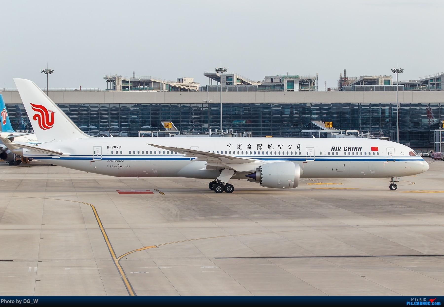 Re:[原创]【南宁飞友】两月之内三次虹桥拍机,大雨中的吹水,水泥天的迪斯尼,晚点的789,不期而遇的ARJ BOEING 787-9 B-7878 中国上海虹桥国际机场