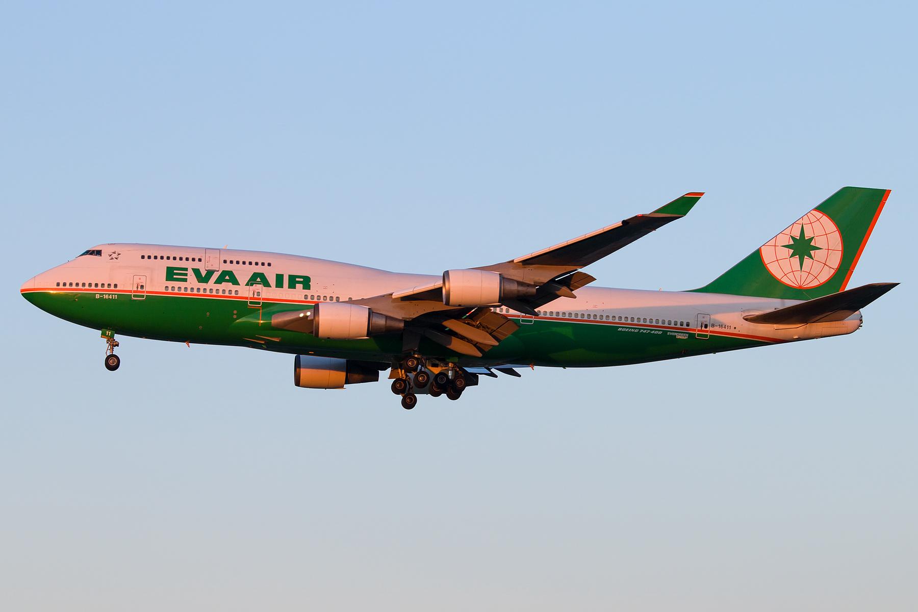 [原创][一图党] EVA AIR 1800*1200 BOEING 747-400 B-16411 中国北京首都国际机场